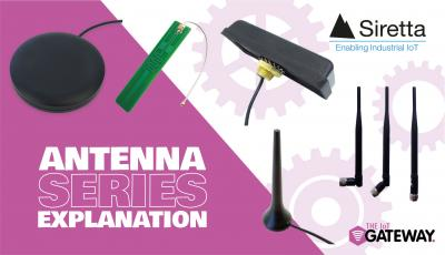 Siretta Antenna Series Explanation and Typical Applications