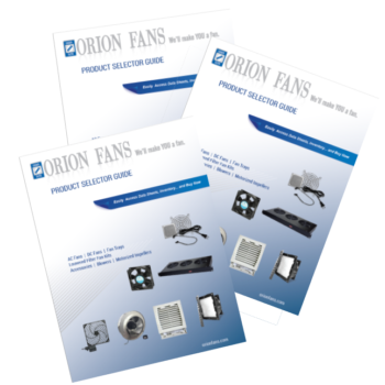 Orion Fans New Product Selector Guide
